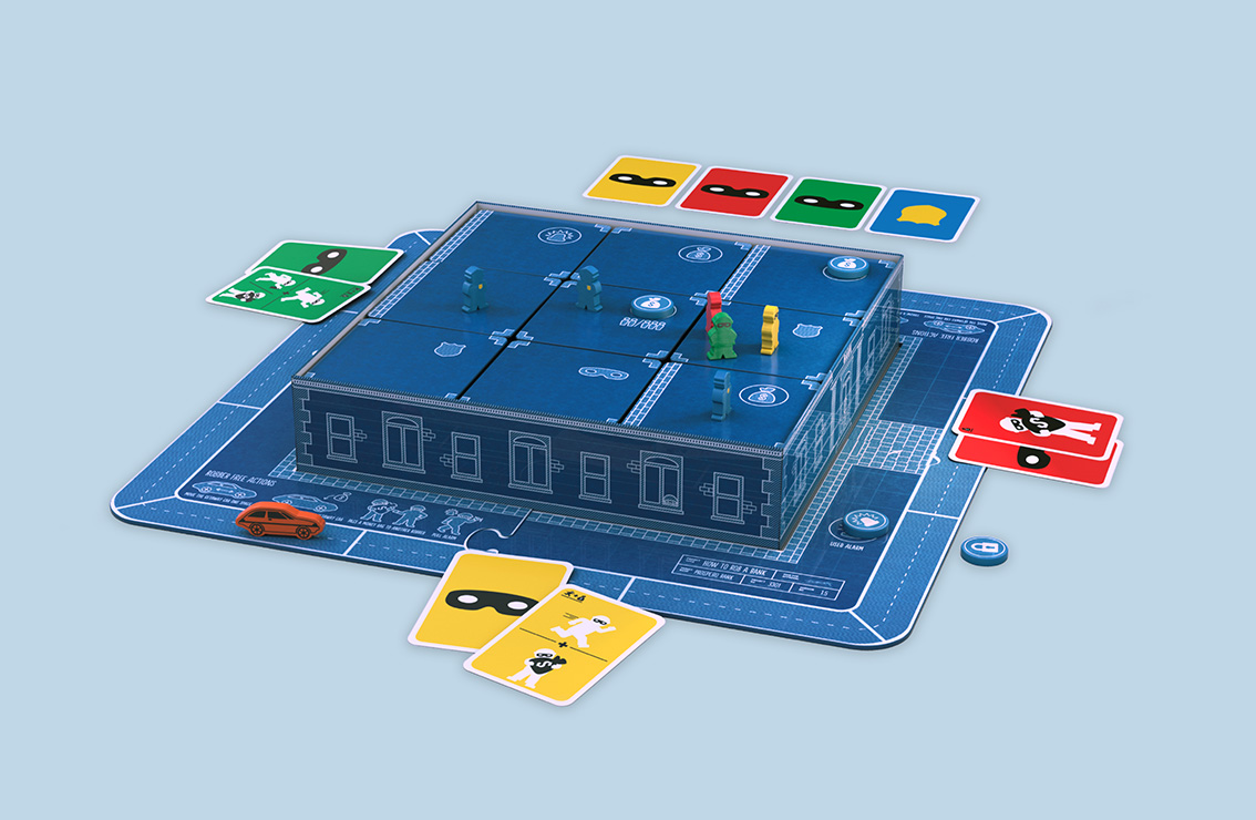 How-to-rob-a-bank-game-blue-jumbo-games-mandy-cobussen-graphic-design